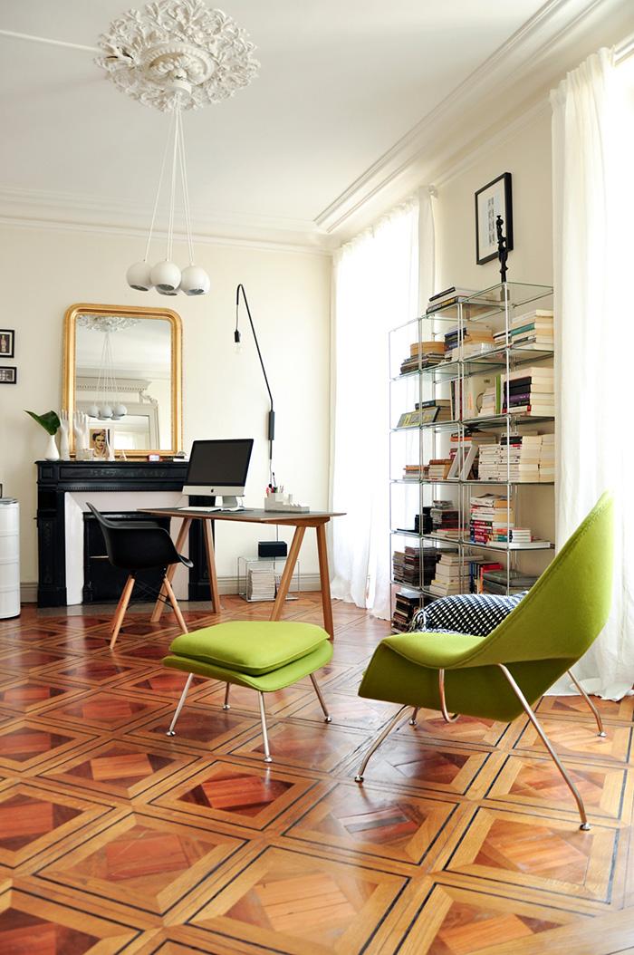 Appartement style haussmannien