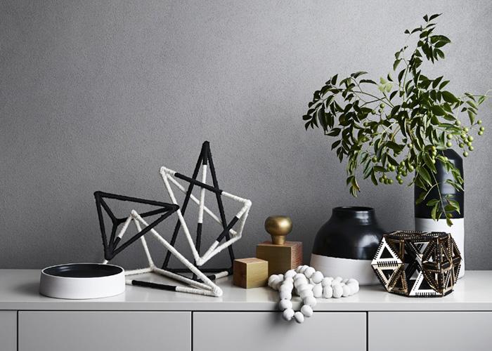 Accumulation objets décoration