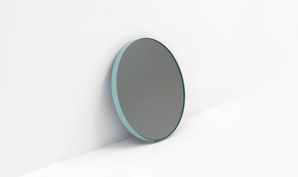Tendance miroir rond