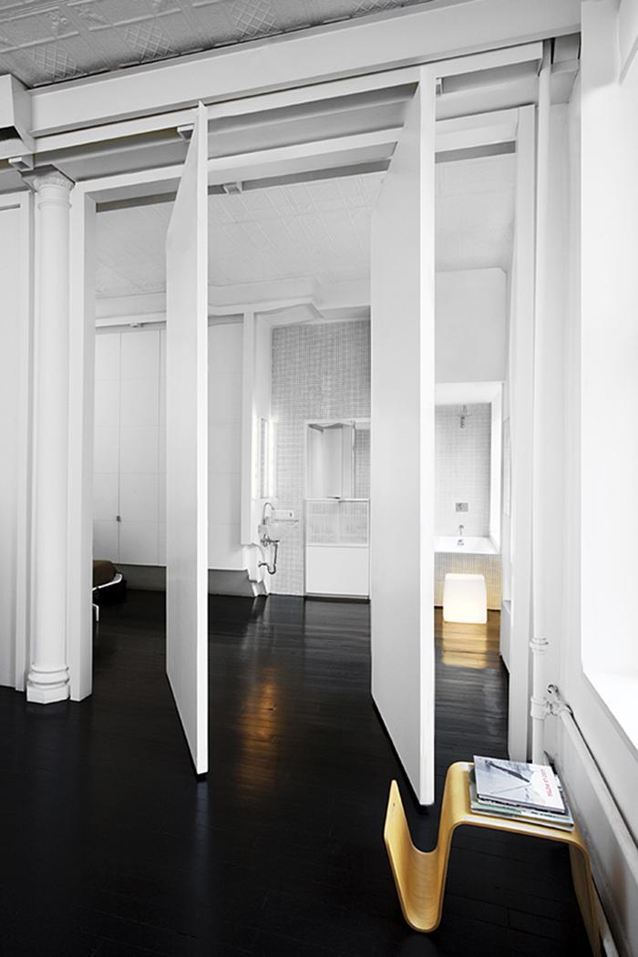 Un loft en noir & blanc