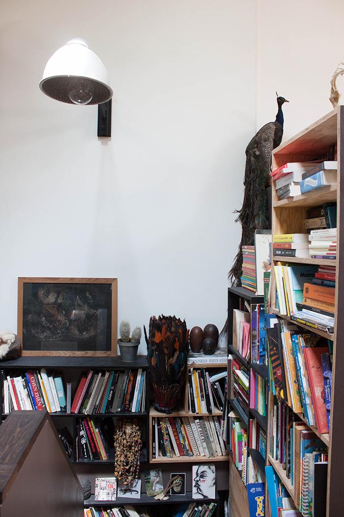 Bibliothèque décoration