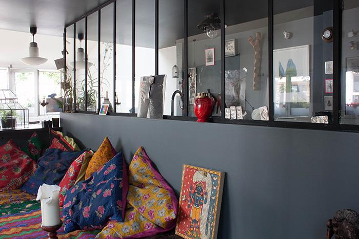 Visite priv e le loft boh me de zo sculpteur frenchy fancy - Cuisine style atelier artiste ...