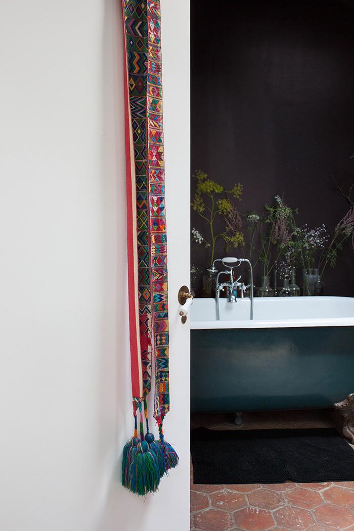 Salle de bain décoration vintage