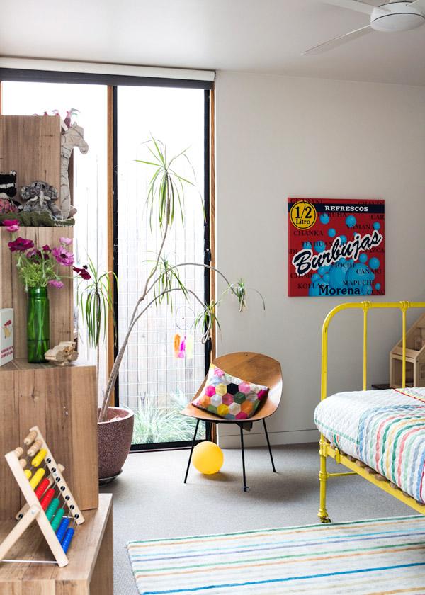 Chambre d'enfant colorée