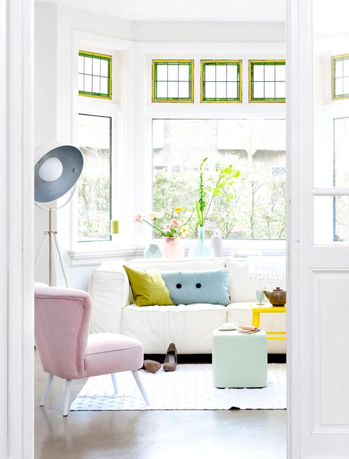 Maison avec bow-window