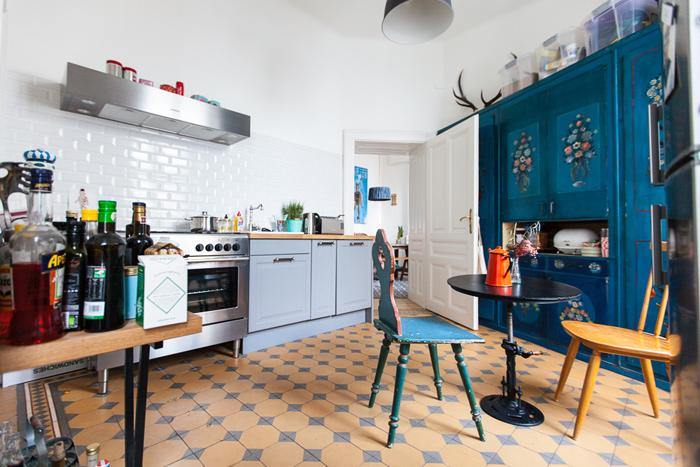 Chez laura cr atrice de l 39 atelier karasinski frenchy fancy for Cuisine melange ancien moderne