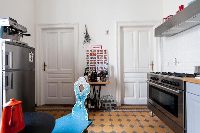 Mélange de styles dans la cuisine
