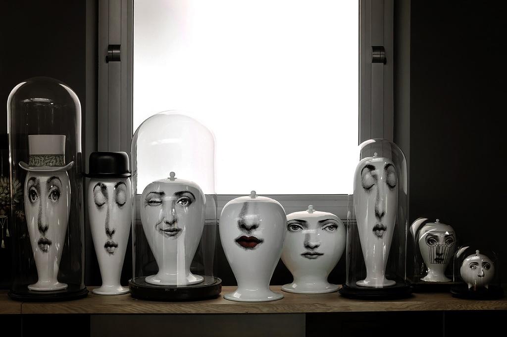 Collection de céramiques Fornasetti