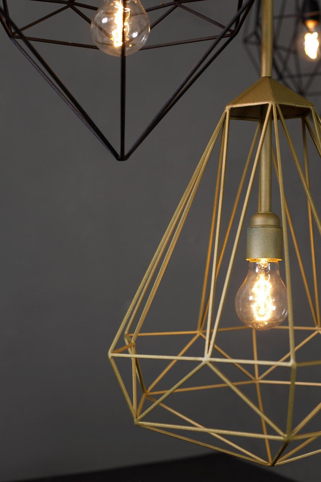 Luminaire design filaire
