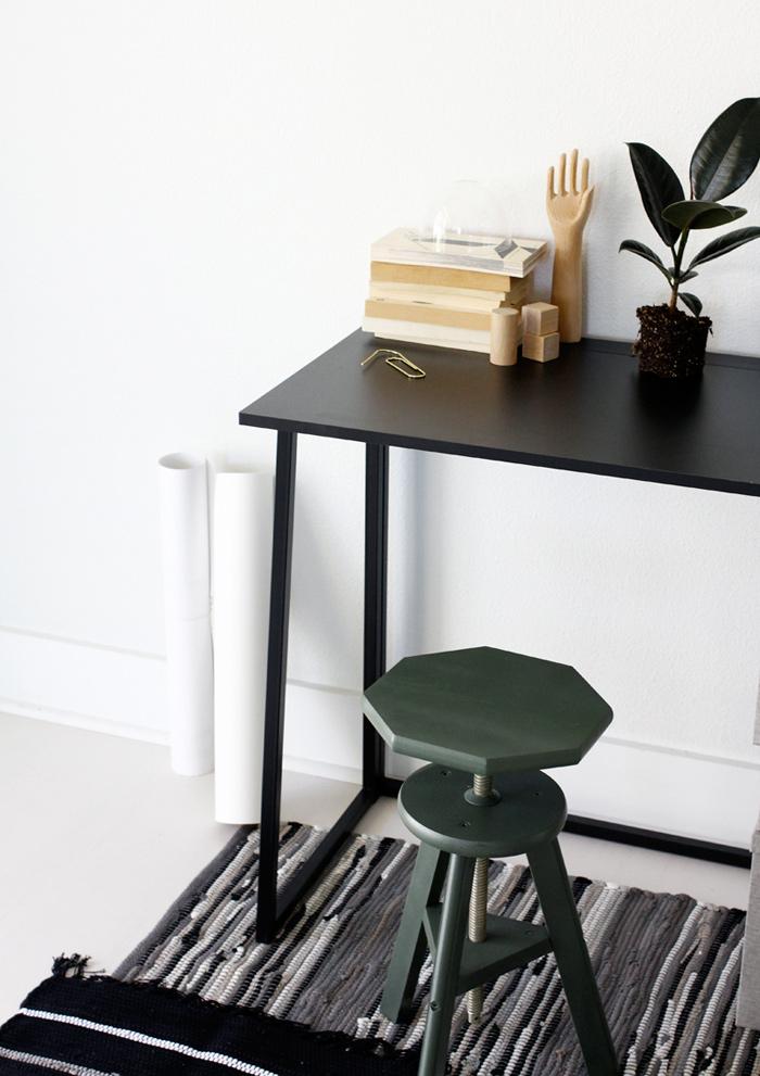 Aménagement petit bureau salon