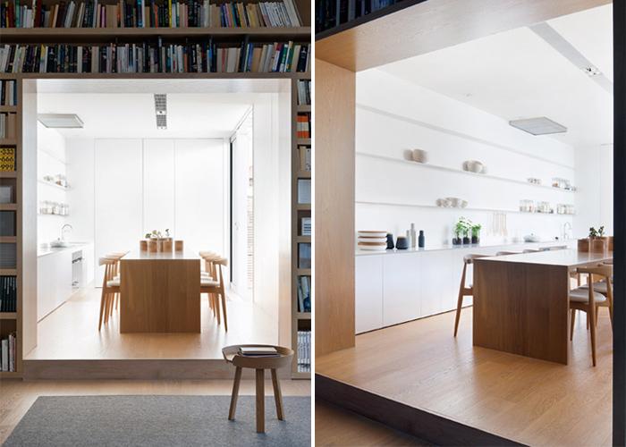 Esprit minimaliste et lignes contemporaines frenchy fancy Petite maison minimaliste
