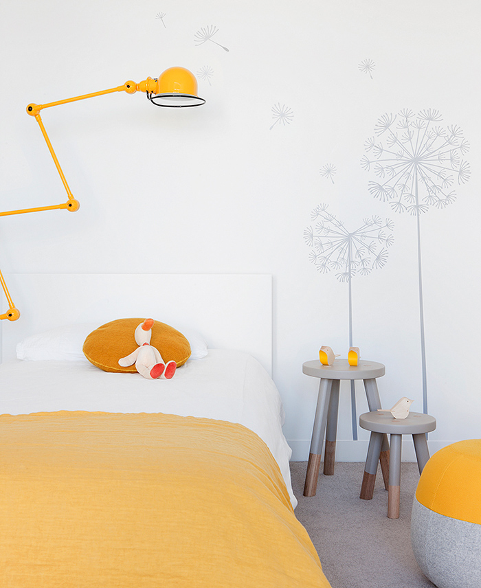 Lampe Jieldé jaune