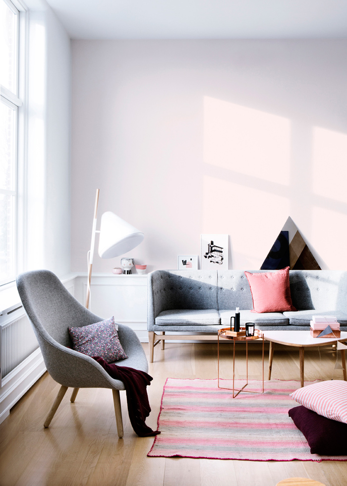 Inspiration un s jour esprit scandinave frenchy fancy for Deco scandinave rose