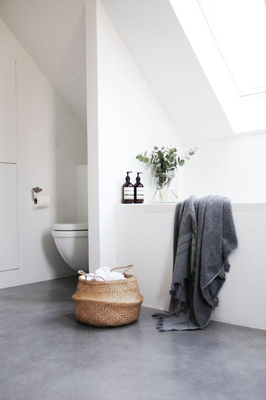 Panier boule salle de bain