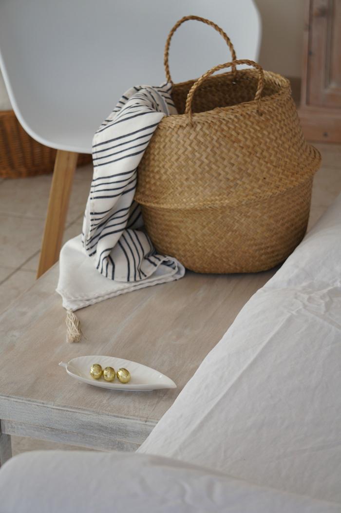Panier boule décoration