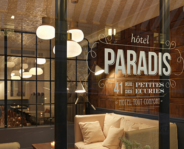 Top 5 des h tels d cor s par des d corateurs paris for Hotel design 2h de paris