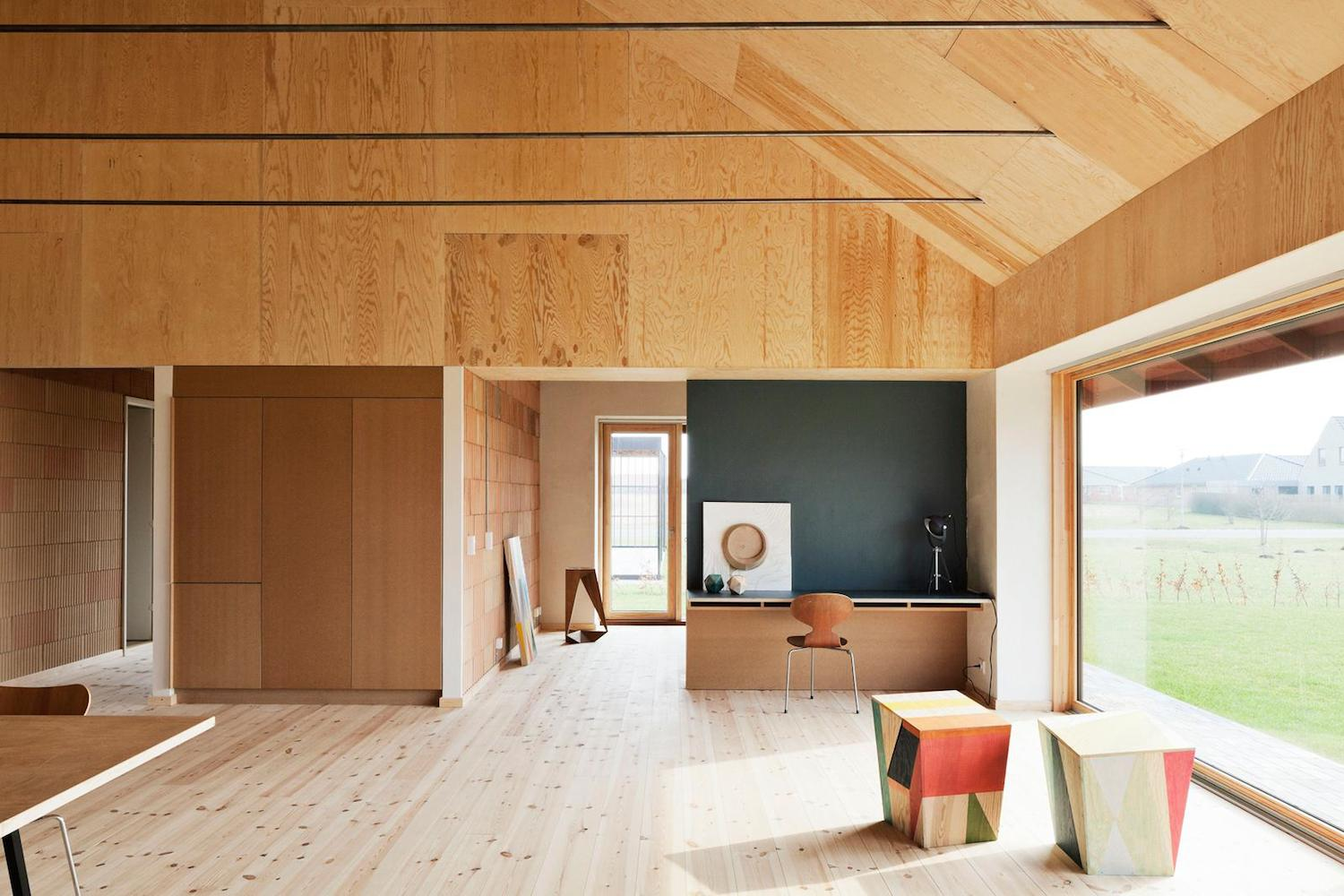 Maison d'architecte en bois contemporaine