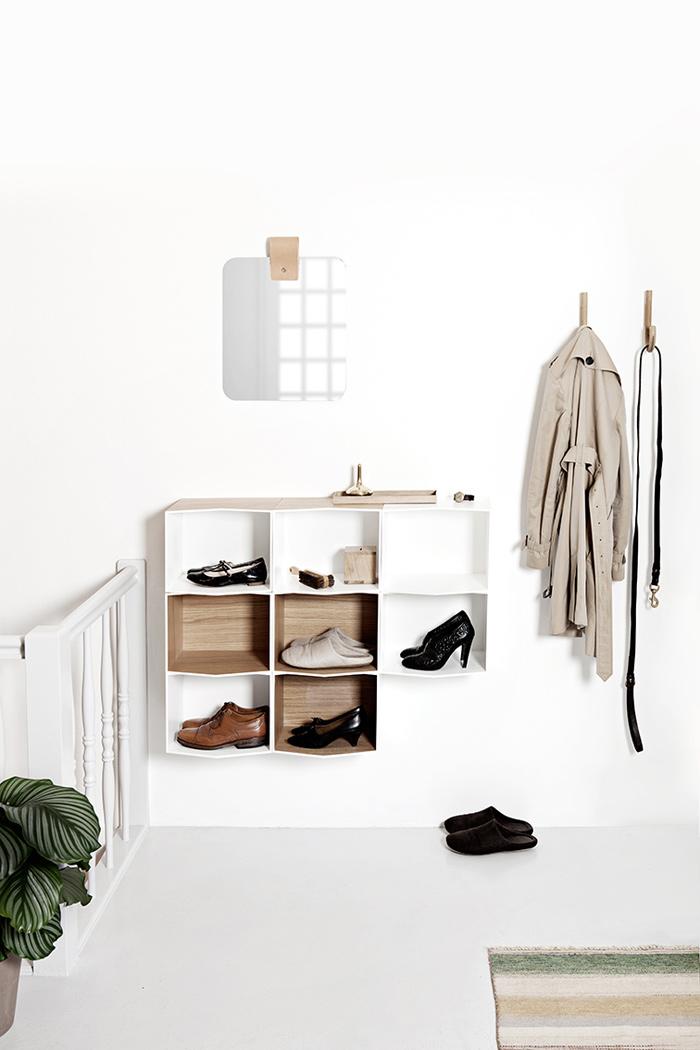 Rangement pour chaussures design