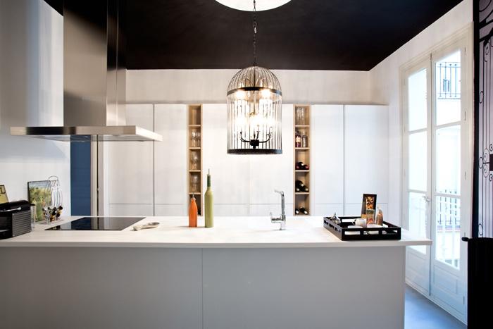 Rénovation d'un appartement haussmannien à Madrid