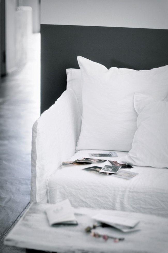 Canapé Ghost par Paola Navone