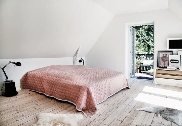 Une maison de campagne scandinave frenchy fancy - Maison de campagne design ...