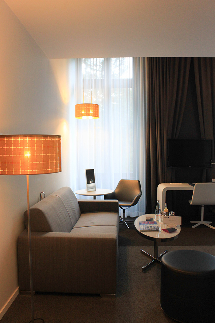 La suite Junior du Radisson Blu