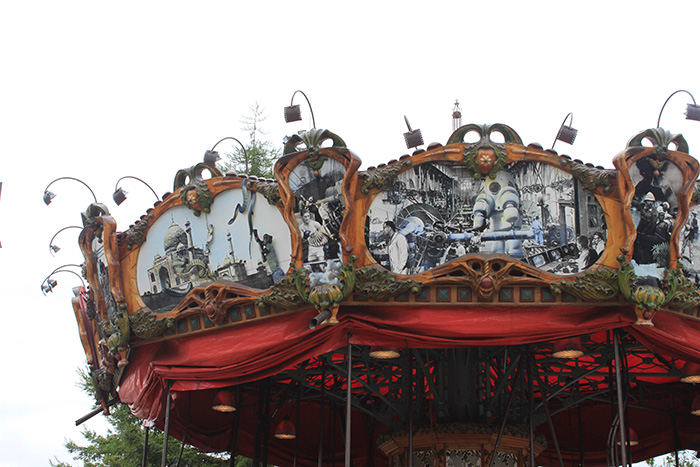 Le carrousel de L'Île aux Machines