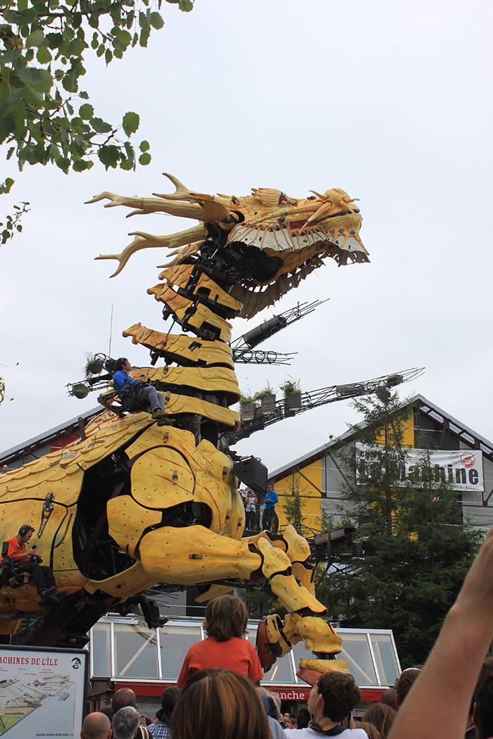 Le dragon de L'Île aux Machines