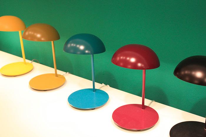 Lampes de bureau colorées