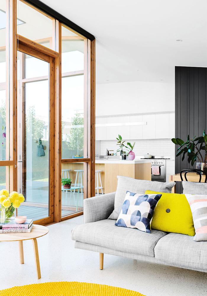 Canapé design avec coussin Hay