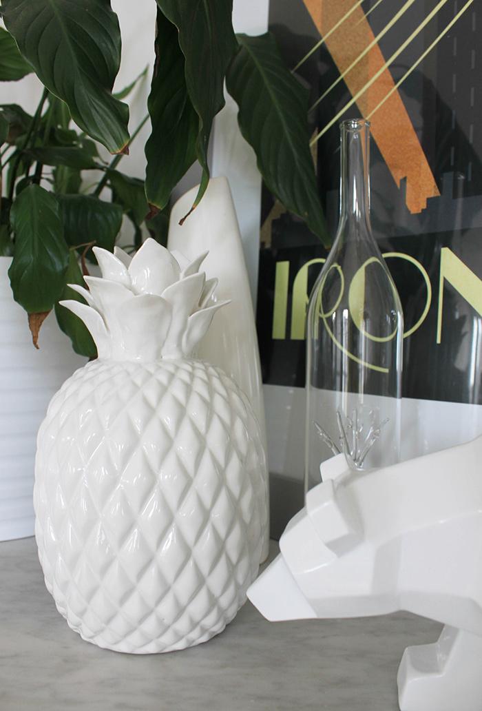 Vase ananas Zara Home