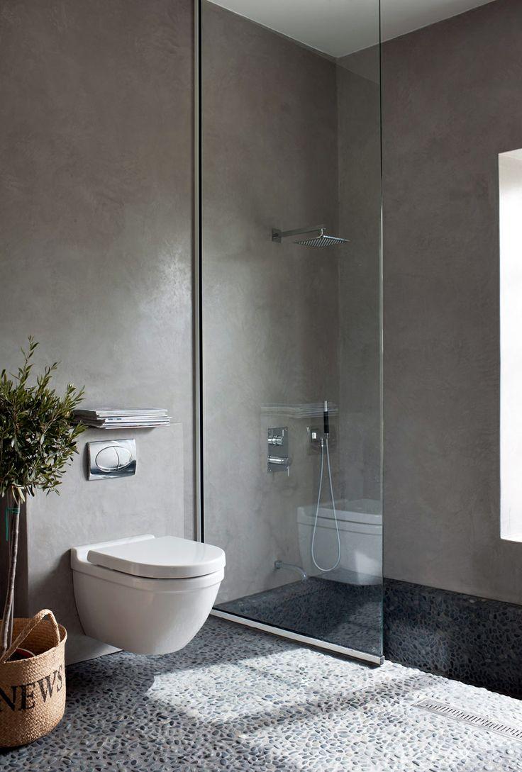 Salle de bain zen contemporaine