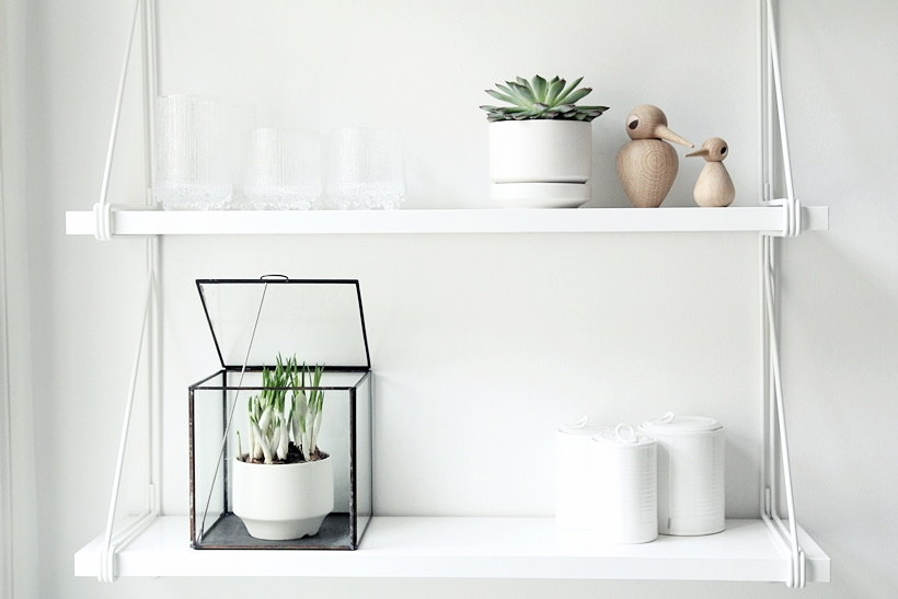 Oiseau bois design scandinave Kristian Vedel