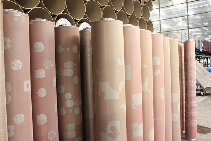 Visite de l'usine textile Marimekko à Helsinki, Finlande