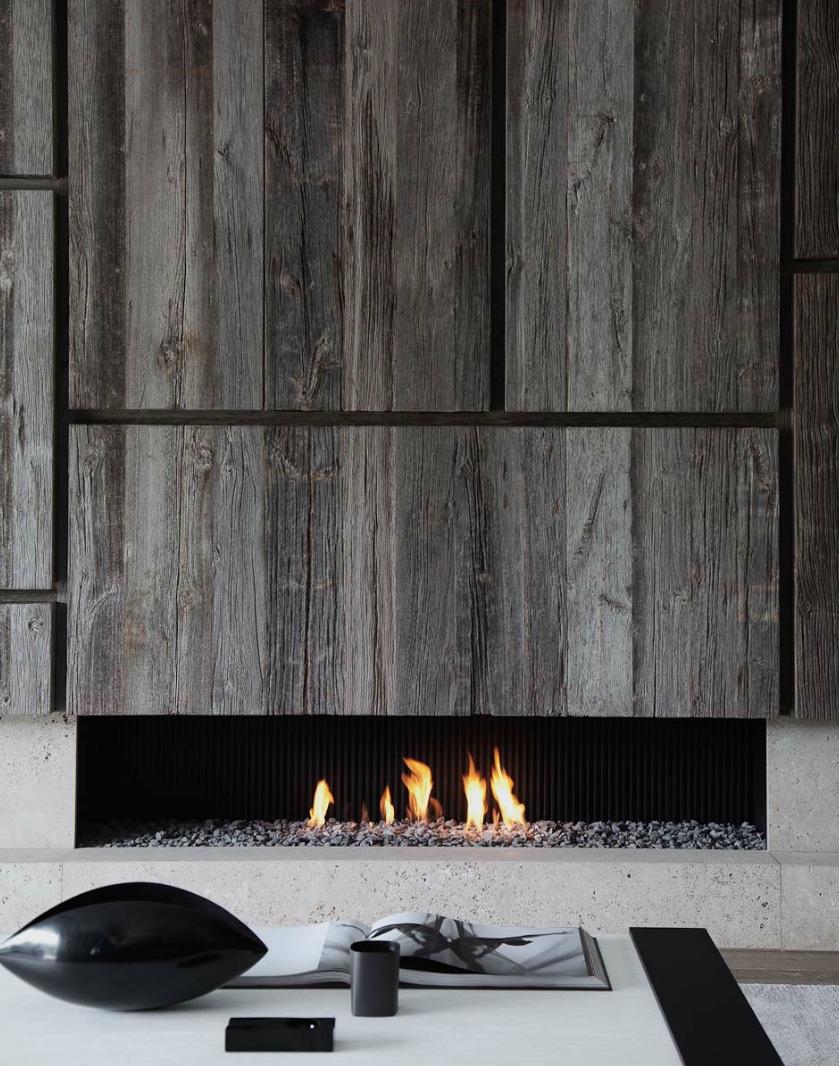 Le charme d'une cheminée... en appartement !