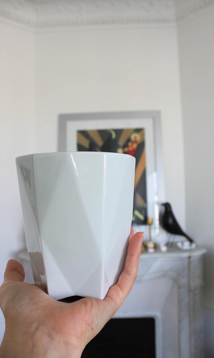 Mug en porcelaine design