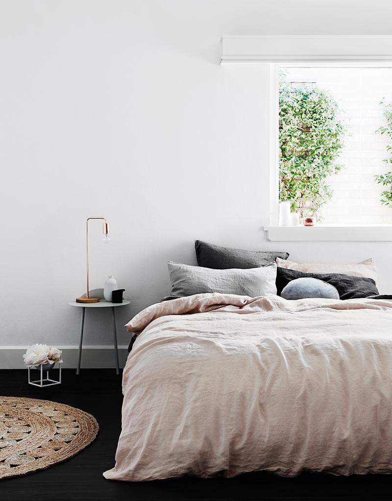 Inspiration poudr e pour du linge de lit frenchy fancy for Inspiration couleur chambre