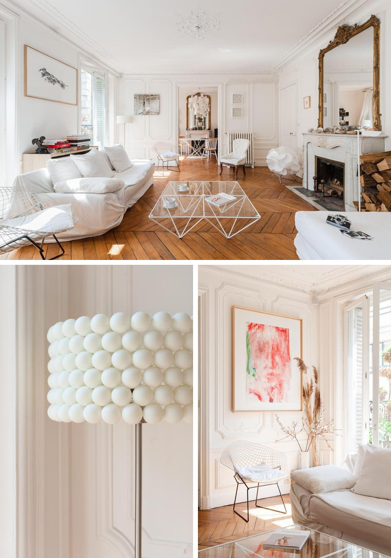 Un int rieur haussmannien contemporain au coeur de pigalle for Interieur french