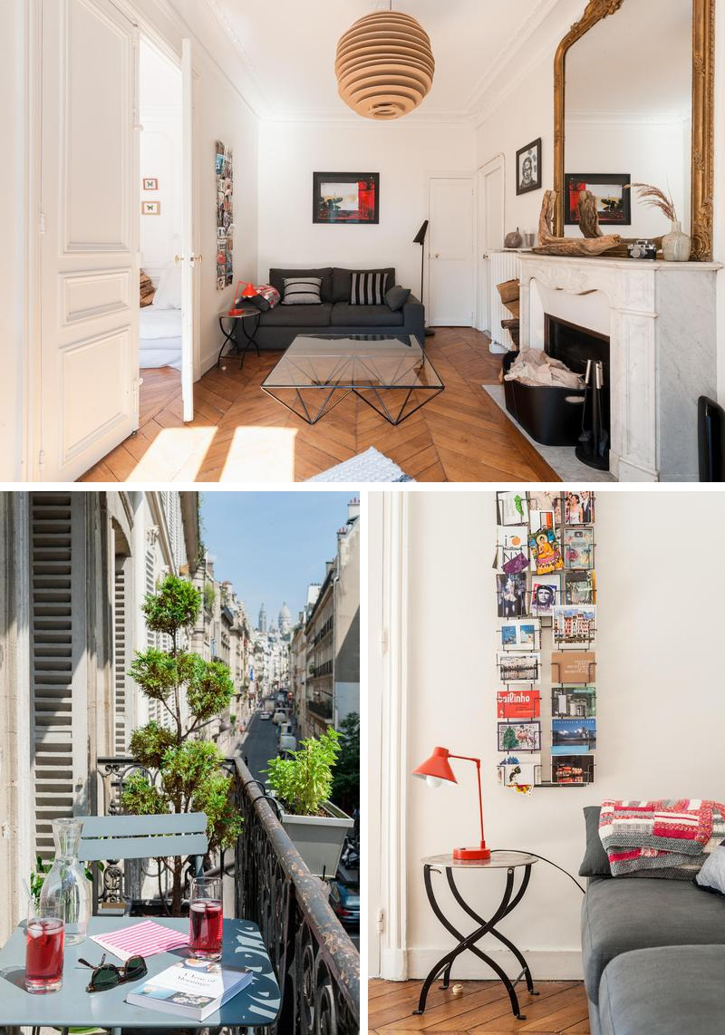 Appartement haussmannien contemporain Paris