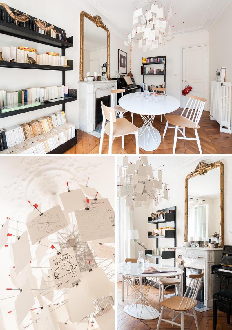 un int rieur haussmannien contemporain au coeur de pigalle frenchy fancy. Black Bedroom Furniture Sets. Home Design Ideas