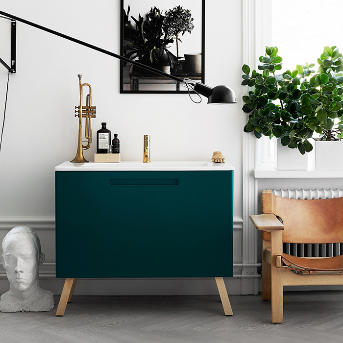Quand lotta agaton stylise la salle de bain frenchy fancy for Salle de bain style nordique