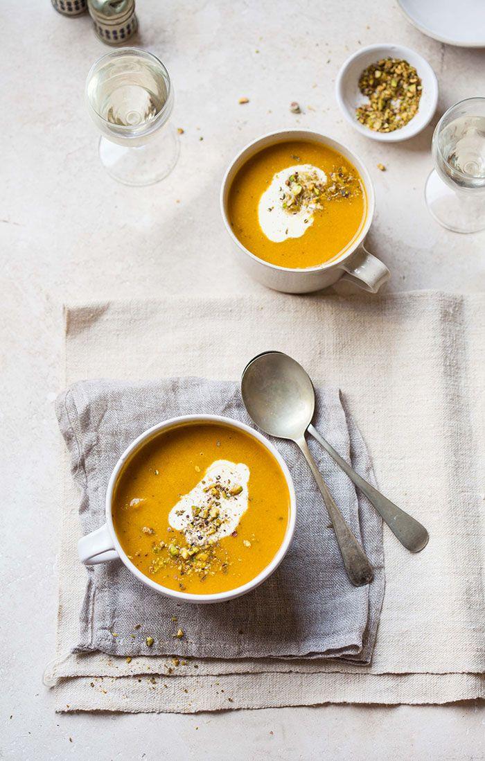 Recette soupe colorée