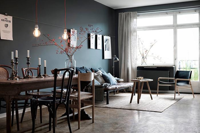 1 appartement 3 possibilit s frenchy fancy - Deco grijze muur ...