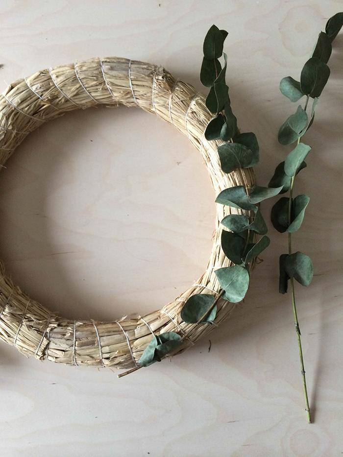 DIY : la couronne de Noël - FrenchyFancy