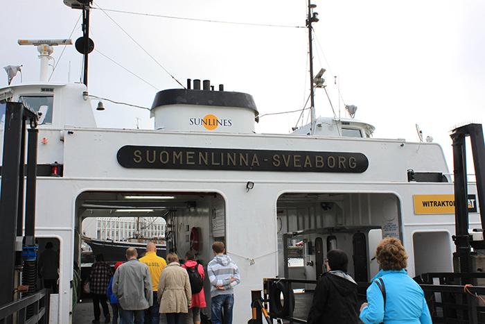 Helsinki ferry Suomenlinna