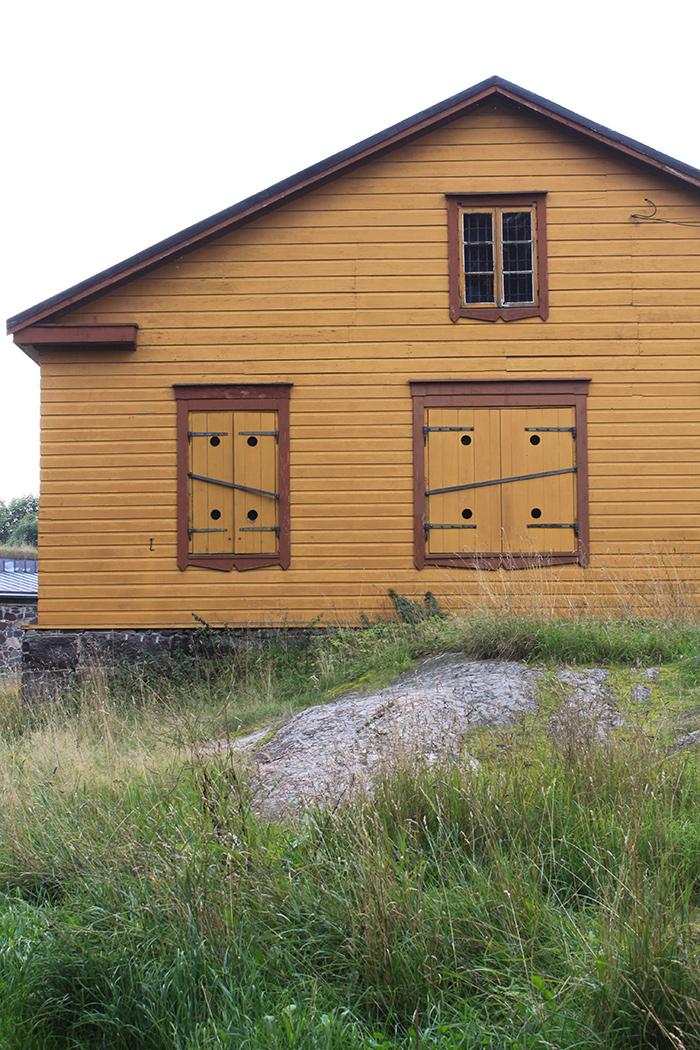 Maison traditionnelle Finlandaise