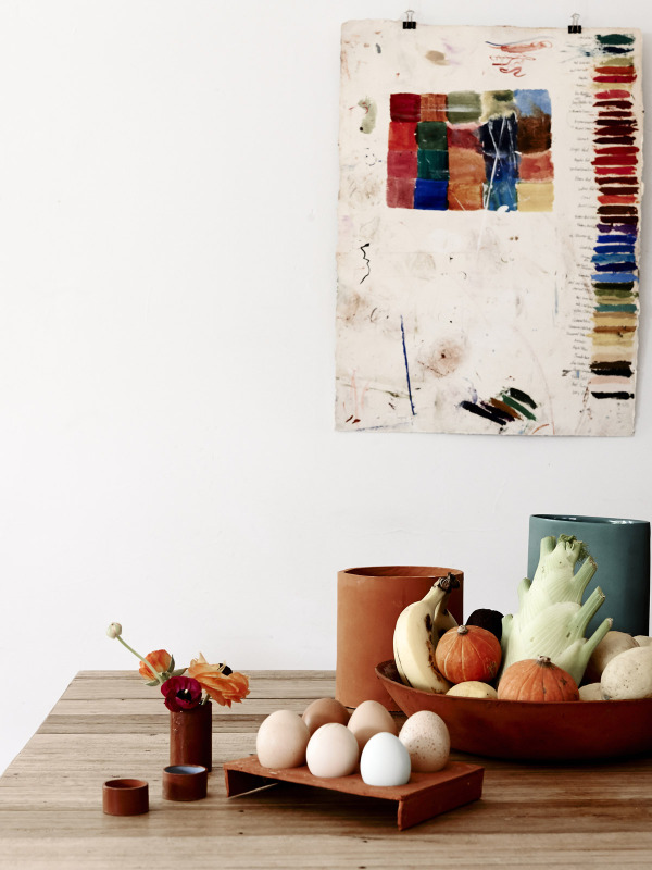 Mélange de mobilier vintage et contemporain