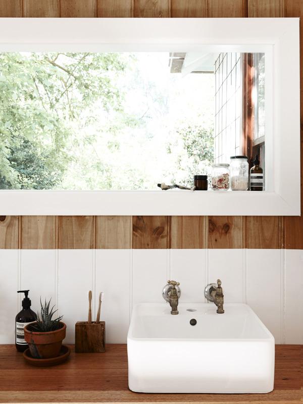 Timbre d'office dans une salle de bain