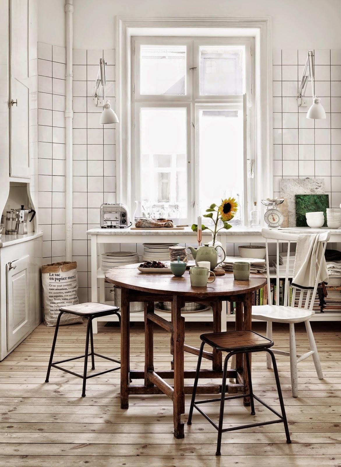 Cuisine inspiration scandinave