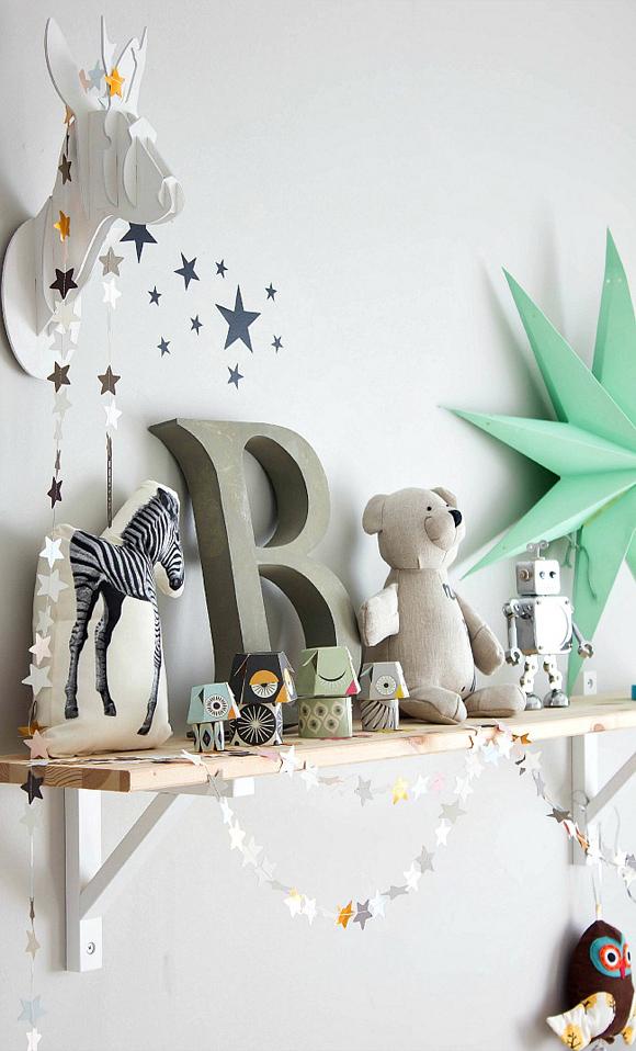 Accessoires de décoration pour chambre d'enfant